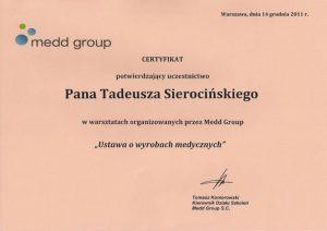 WZSO Certyfikaty i kompetencje w dziedzinie protetyki 5