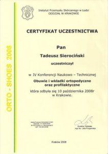 WZSO Certyfikaty i kompetencje w dziedzinie protetyki 7