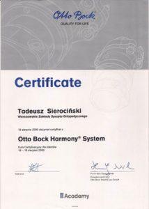 WZSO Certyfikaty i kompetencje w dziedzinie protetyki 8