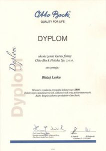 WZSO Certyfikaty i kompetencje w dziedzinie protetyki 14