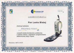 Certyfikaty i kompetencje w dziedzinie protetyki | WZSO image 15