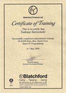 WZSO Certyfikaty i kompetencje w dziedzinie protetyki 1