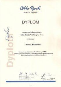 WZSO Certyfikaty i kompetencje w dziedzinie protetyki 3
