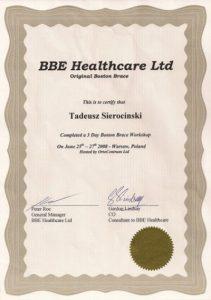 WZSO Certyfikaty i kompetencje w dziedzinie protetyki 4