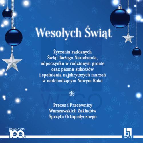 Życzenia świąteczne i godziny pracy